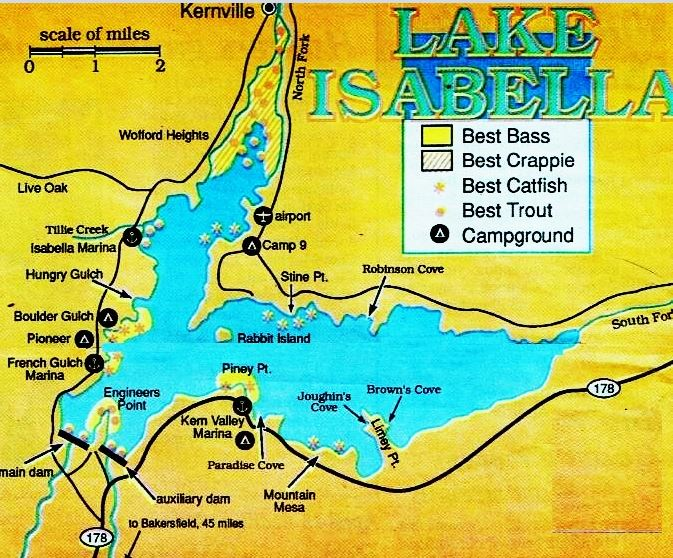 Isabella4 jpg oregon california hunting fishing guides for Lake almanor fishing report