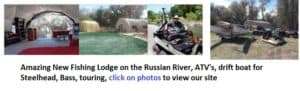 russian river, camping, fishing, steelhead, best areas, maps,